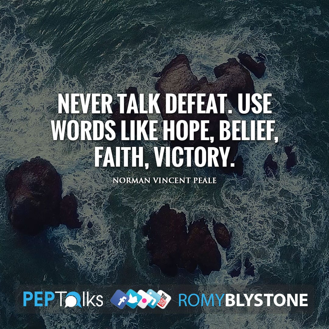 Words to Encourage YOU by Norman Vincent Peale